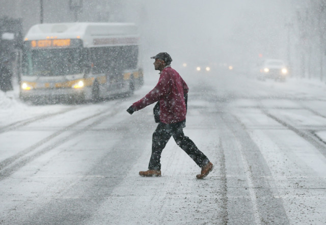 Winter storm to affect 20 million people in US over weekend