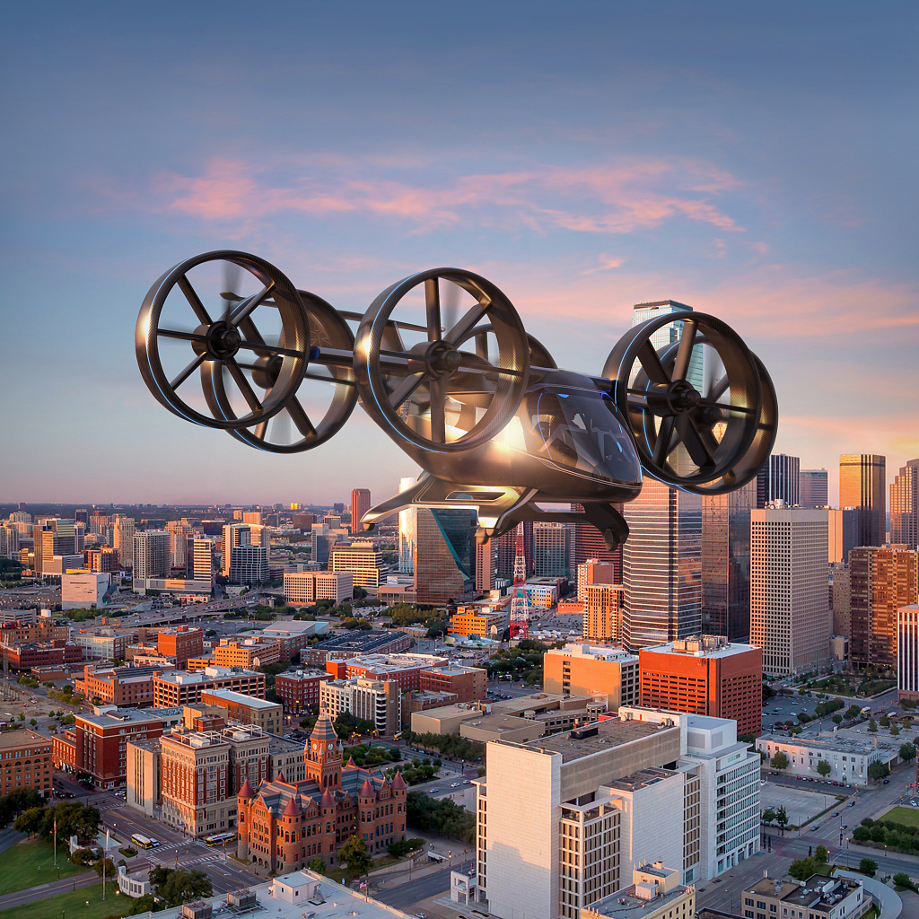 Bell unveils amazing flying taxi in cooperation with Uber