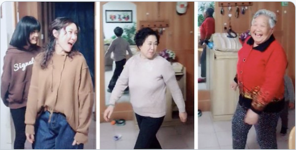 Four generations of Chinese families go viral on internet