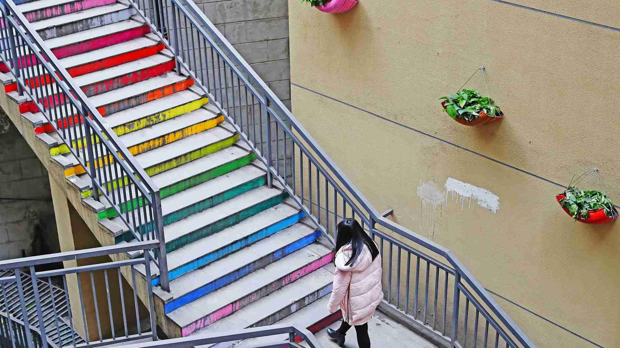 Old neighborhood in Chongqing turned into themed courtyard
