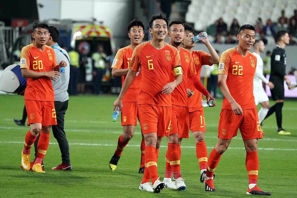China beat the Philippines 3-0 to advance from the group stage at Asian Cup