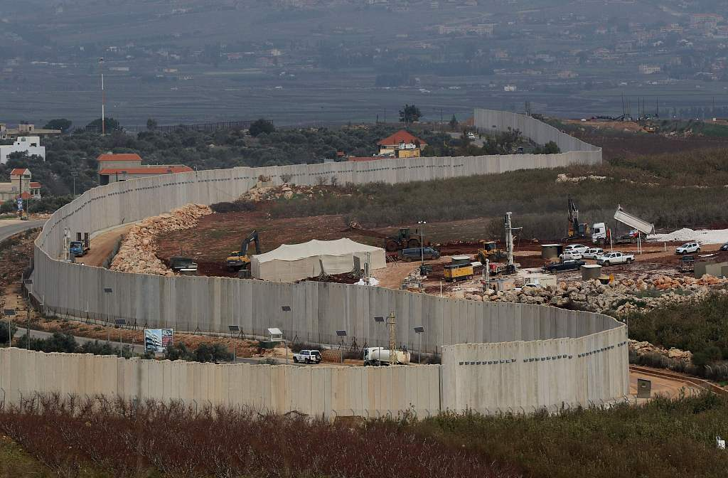 Israel's wall construction on Lebanese borders violates UN resolution: UNIFIL