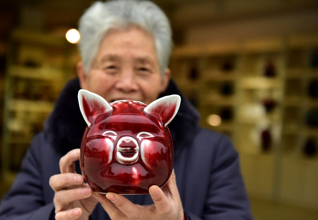 Pigs fly off shelves as New Year nears