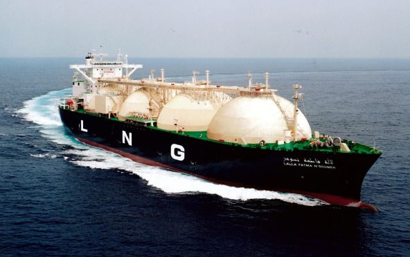 LNG carrier leaks off China coast