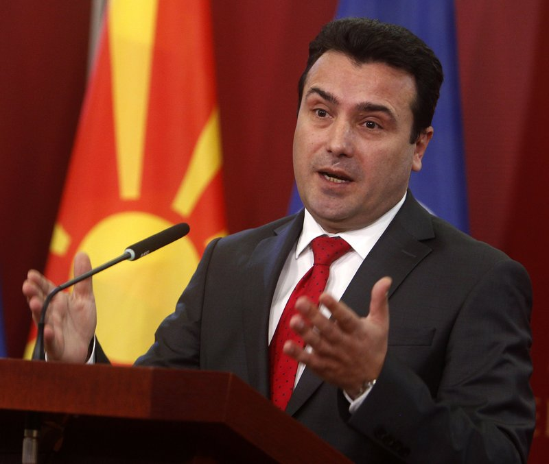 Macedonian PM: Greece's turn to make history with name deal
