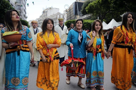 Algerian Amazighs celebrate Amazigh New Year