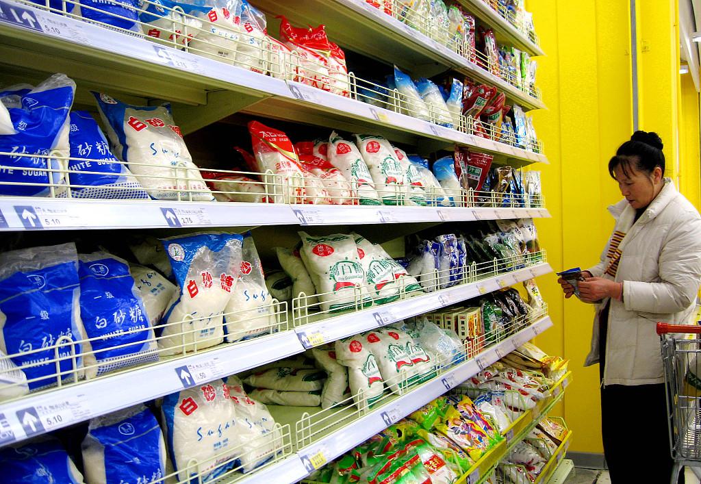 China's sugar output, sales increase
