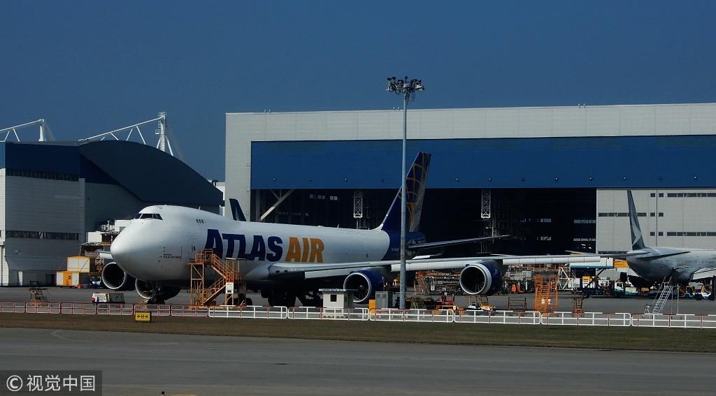 Hong Kong int'l airport sees record high passenger, cargo throughput