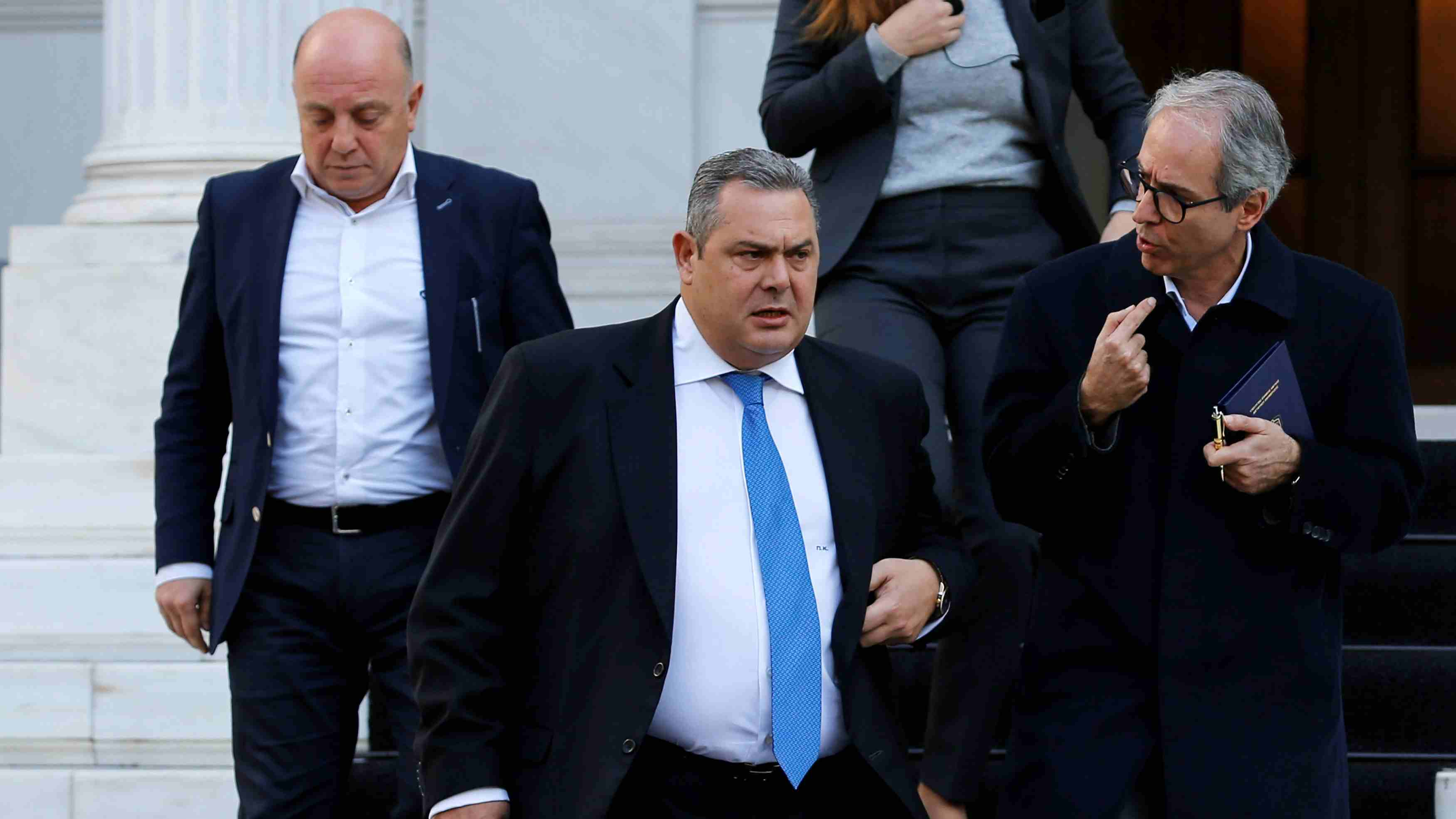 Greek defense minister quits over Macedonia name deal, six others may follow