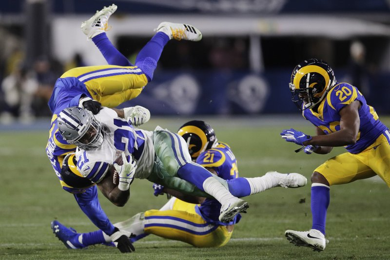 Whitworth's line dominates as Rams power past Cowboys, 30-22