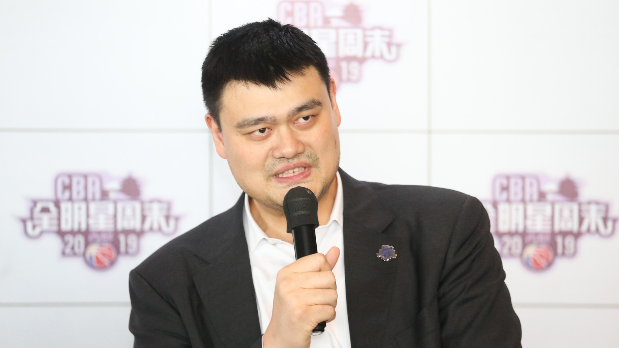 Yao Ming: Unregistered Zhou Qi cannot play in CBA this season
