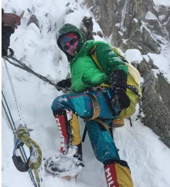 Chinese mountaineer conquers the heights from rock bottom
