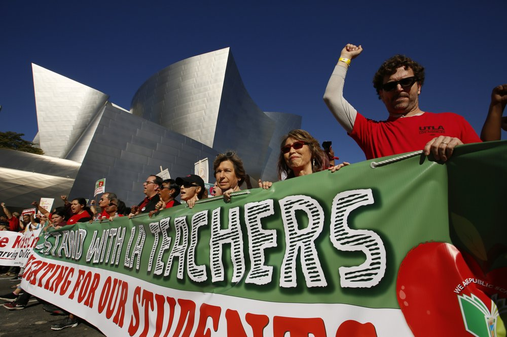 With no new talks, LA teacher strike all but inevitable