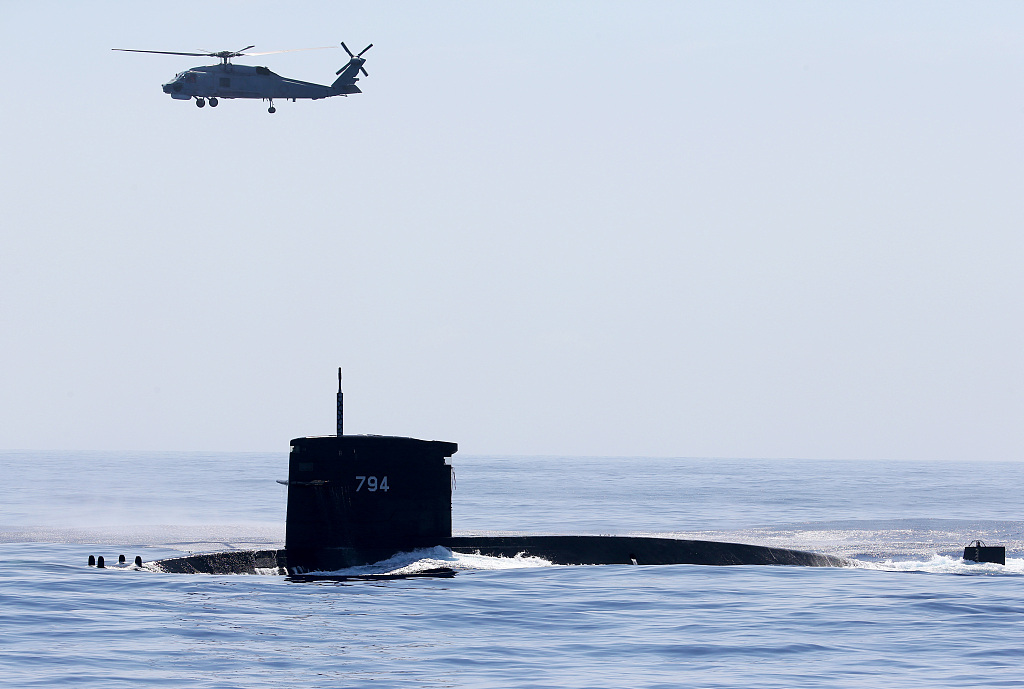China opposes foreign participation in Taiwan submarine production