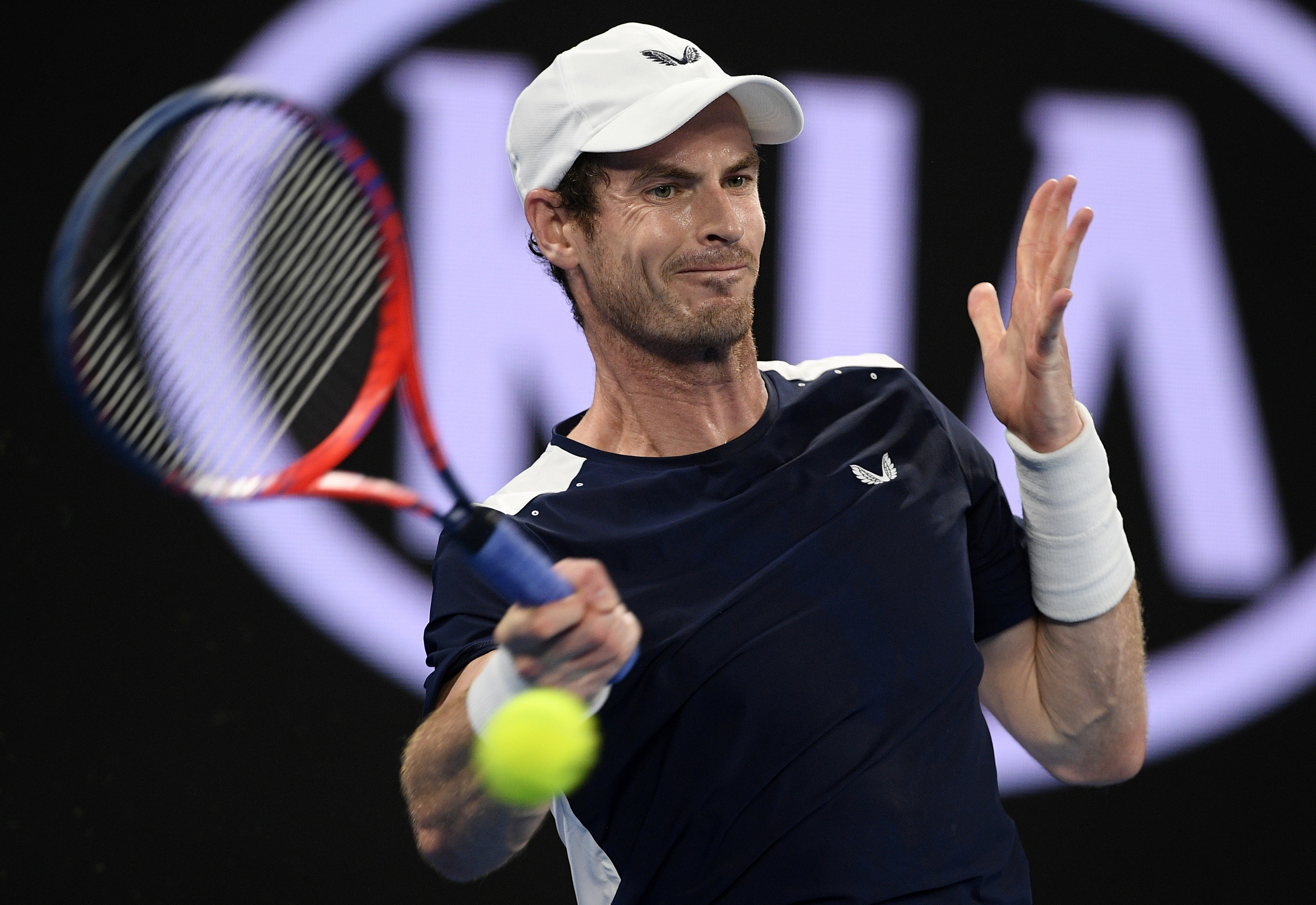 Out and likely over for Murray at Aussie Open