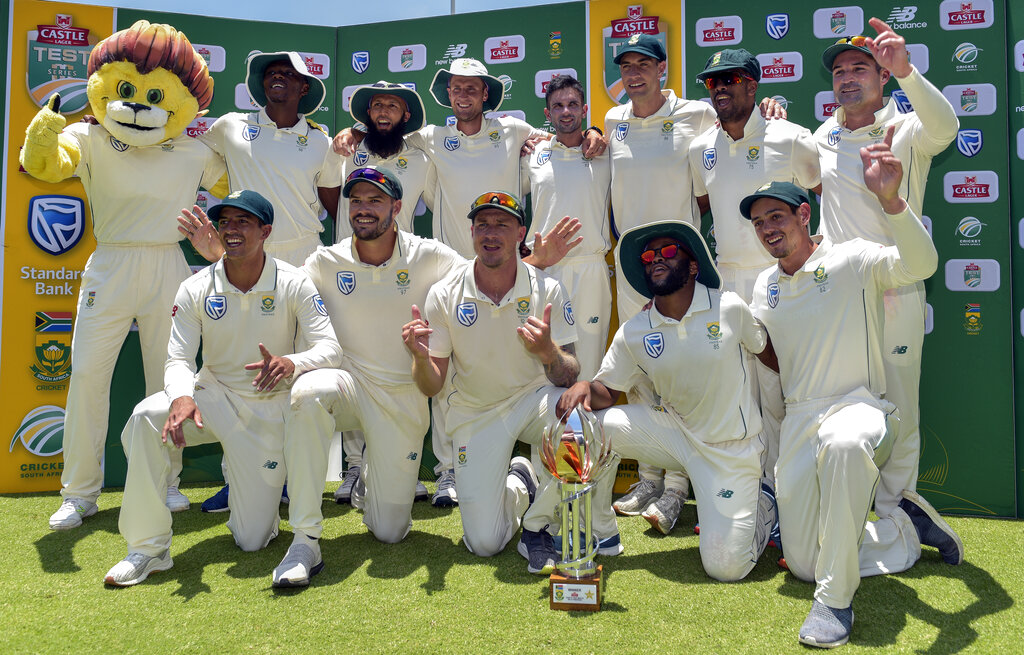 S. Africa fast bowlers deliver 3-0 series sweep over Pakistan