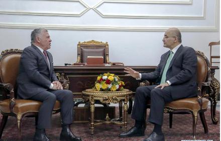 Jordan's King visits Iraq for talks over bilateral ties