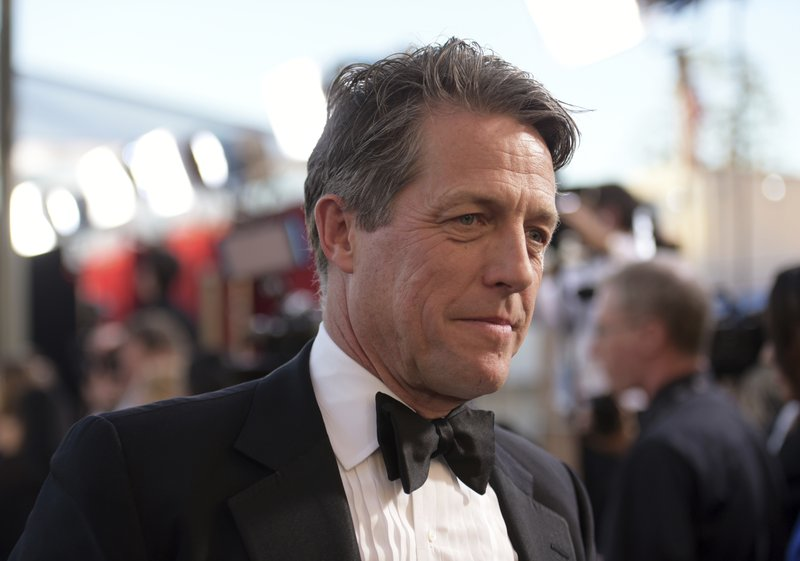 Hugh Grant seeks return of script after theft from his car today