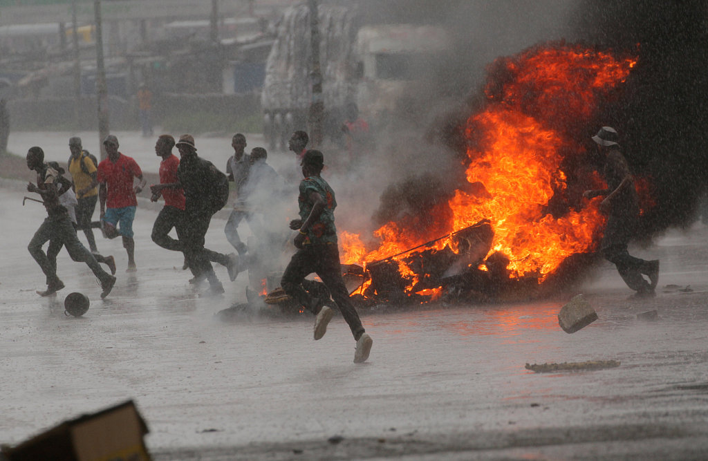 Deaths in Zimbabwe fuel protests: security minister