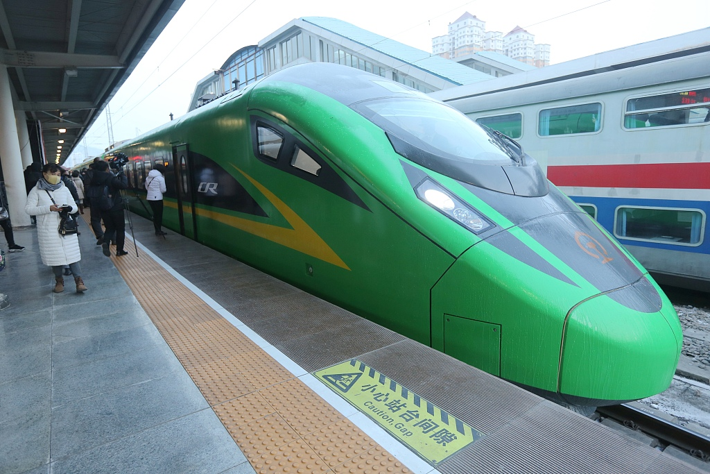 Report on Fuxing trains mistaken, authorities say