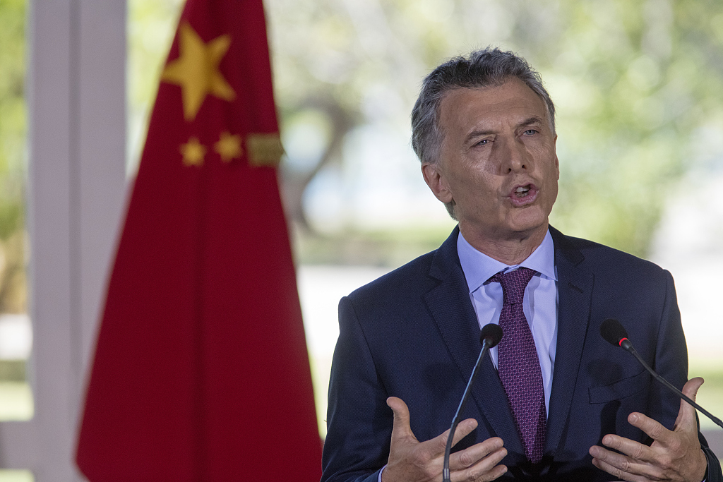 """Argentine president calls Argentina-China hydropower project """"highly important"""""""