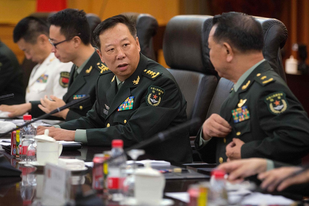 No external interference over Taiwan question is allowed: Chinese military official