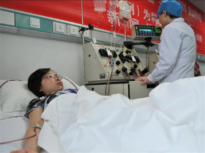 Hematopoietic stem cells donations in China up 13 pct in 2018