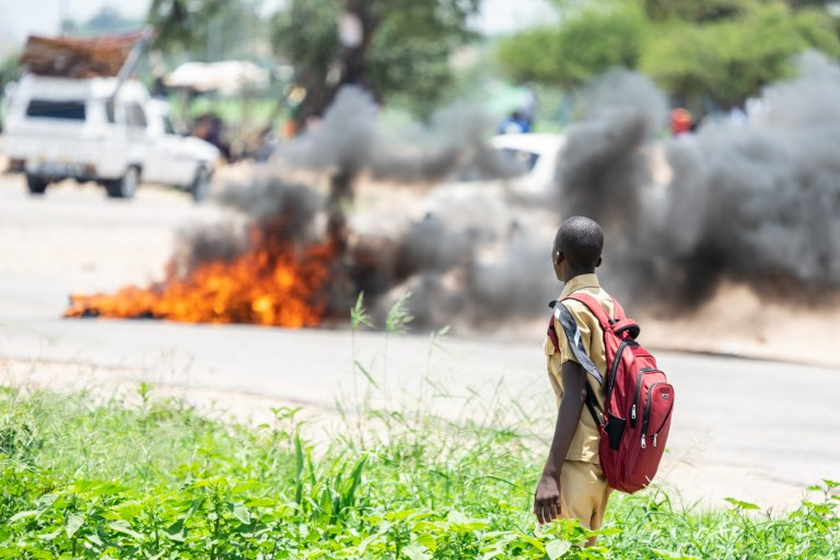 Zimbabwe streets empty after deadly demonstrations
