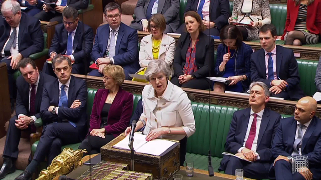 British Parliament nears historic vote on Brexit