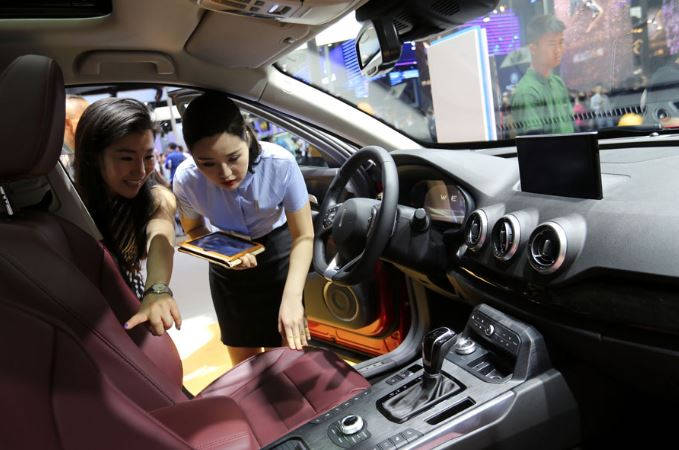 China ahead in car sales race for 10 consecutive years