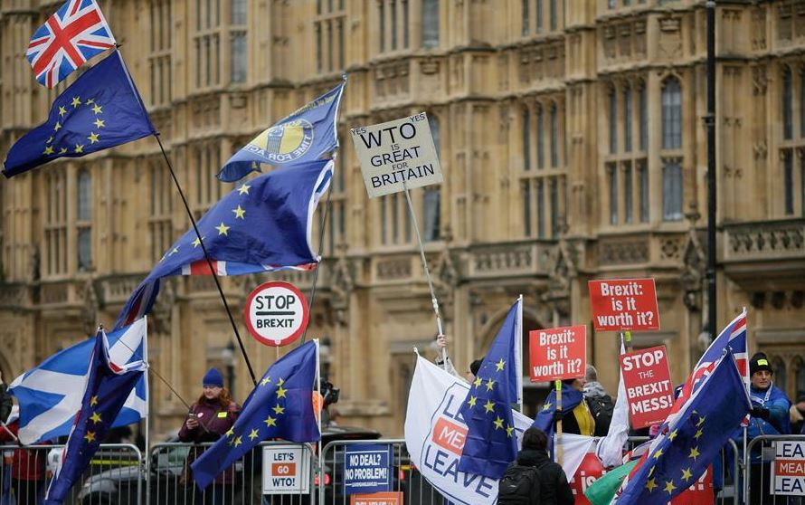 UK MPs warned against no-deal Brexit on eve of Parliament vote