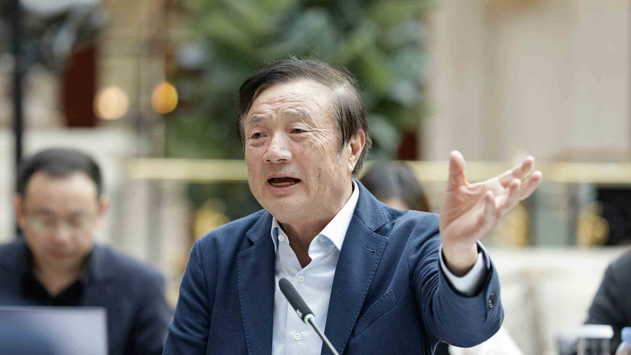 Huawei founder Ren Zhengfei denies spy accusation