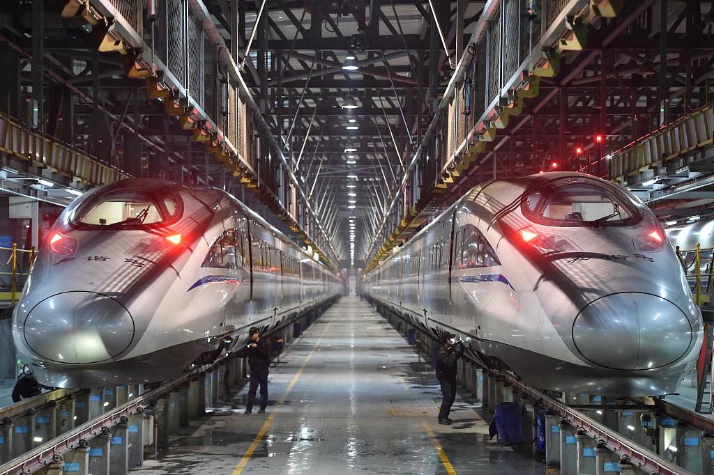 High-speed railways under inspection for Spring Festival travel rush