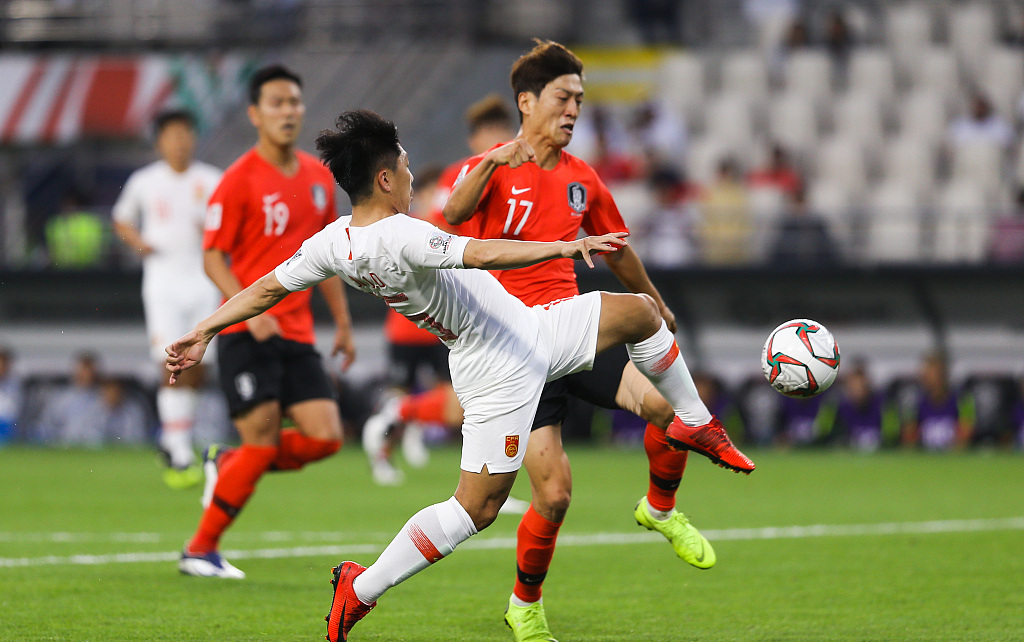 South Korea beat China 2-0 to finish top of Group C at Asian Cup