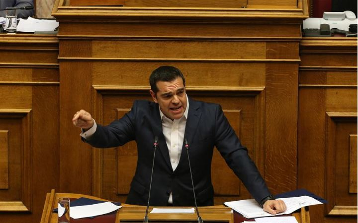 Greek gov't wins confidence vote, ahead of crucial vote on Macedonia name deal