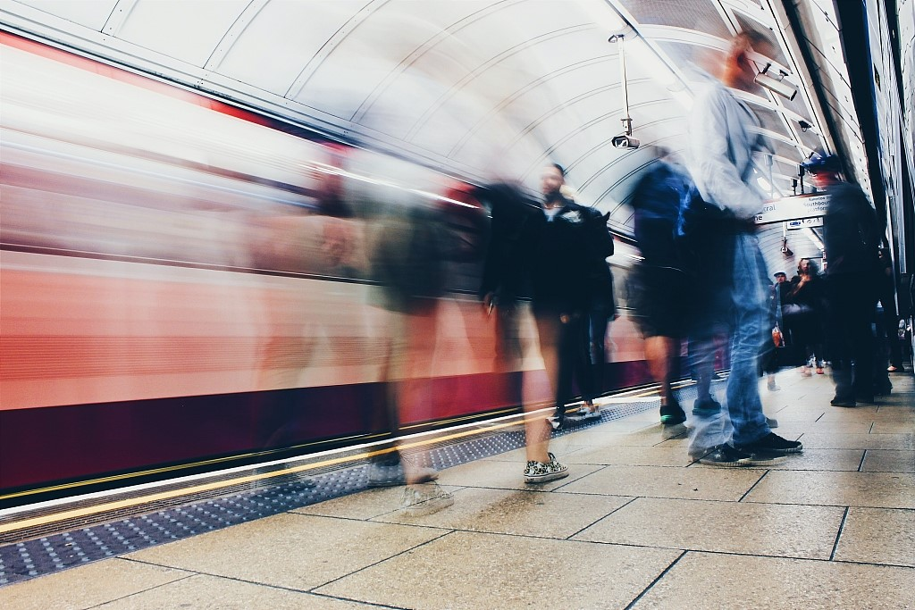 PM2.5 levels in subways are five times higher than on roads