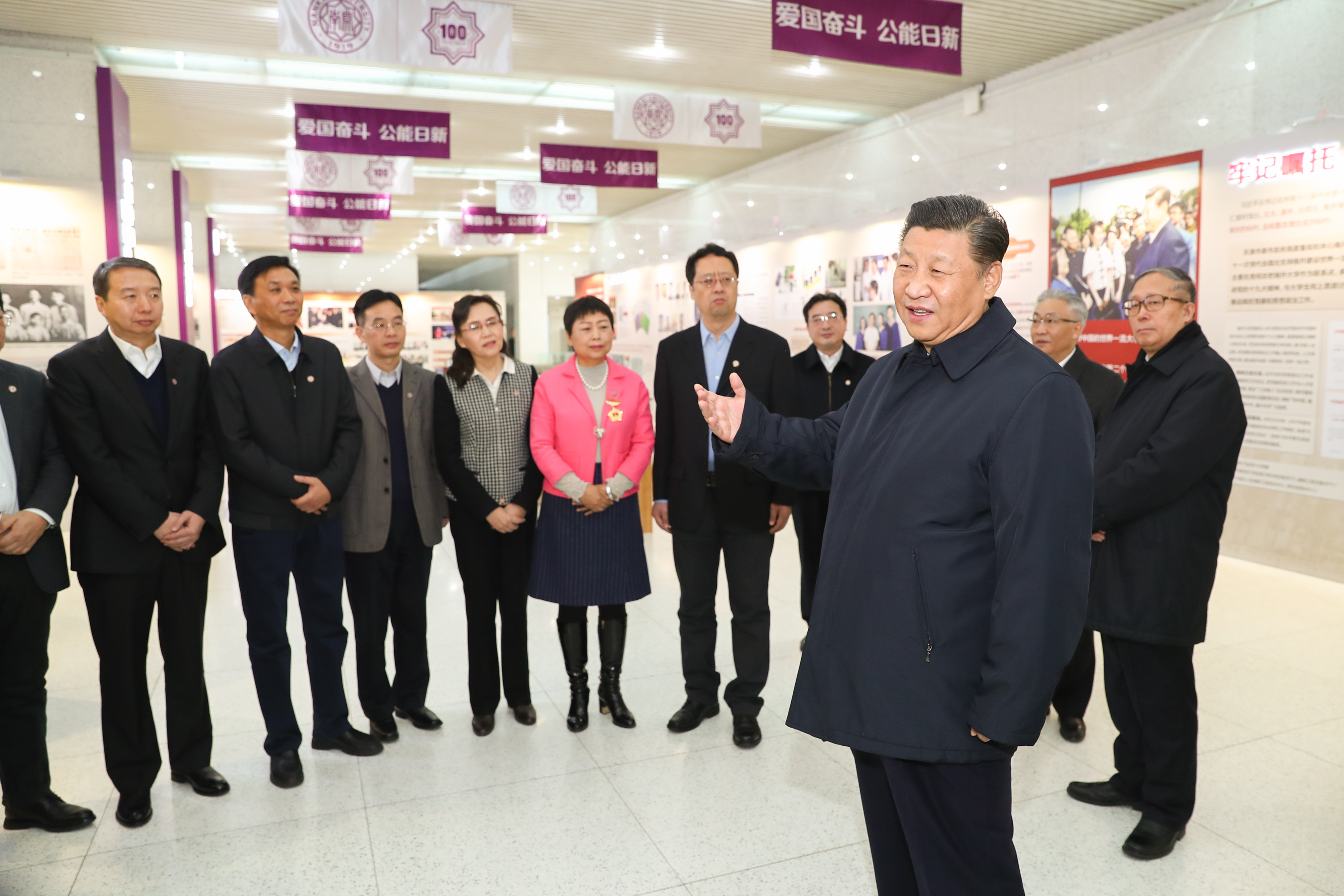 President Xi makes inspection tour in Tianjin