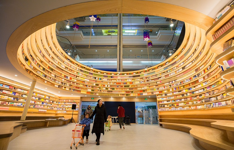 Hohhot unveils creative bookstore
