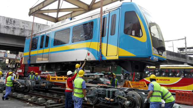 Manila sets another test run for China trains