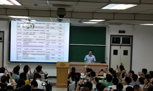 Chinese university lecturer makes it fun to solve real-world questions with Marxism