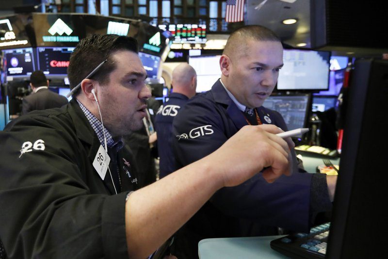 US stocks edge higher as health care and industrials rise