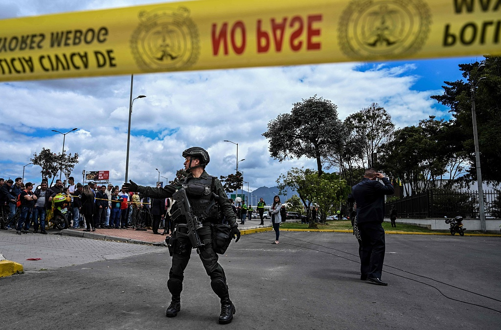 Ten killed in car bomb attack on Colombian police academy