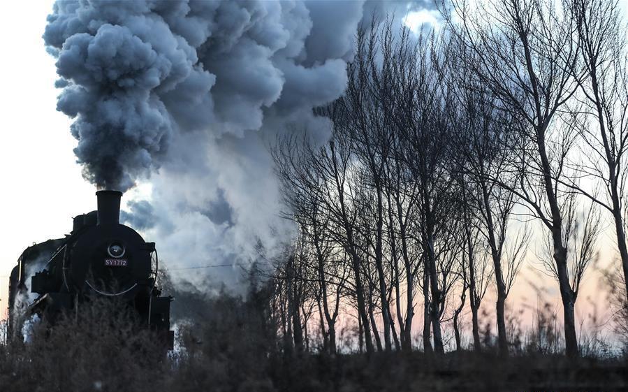Steam locomotive tourism event kicks off