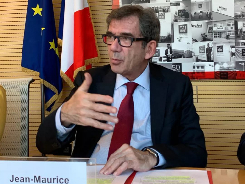 French ambassador to China: France welcomes Huawei investment