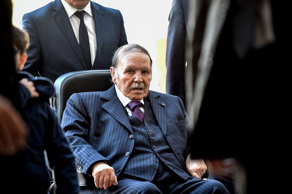 Algeria calls presidential election for April 18