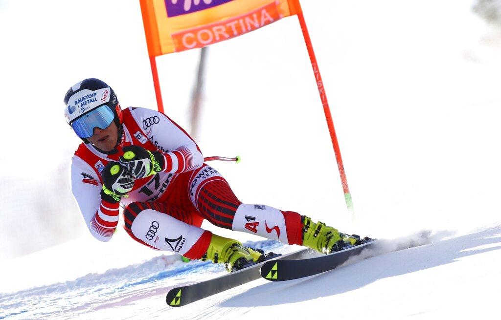 Siebenhofer wins downhill, Vonn finishes 10th in her return