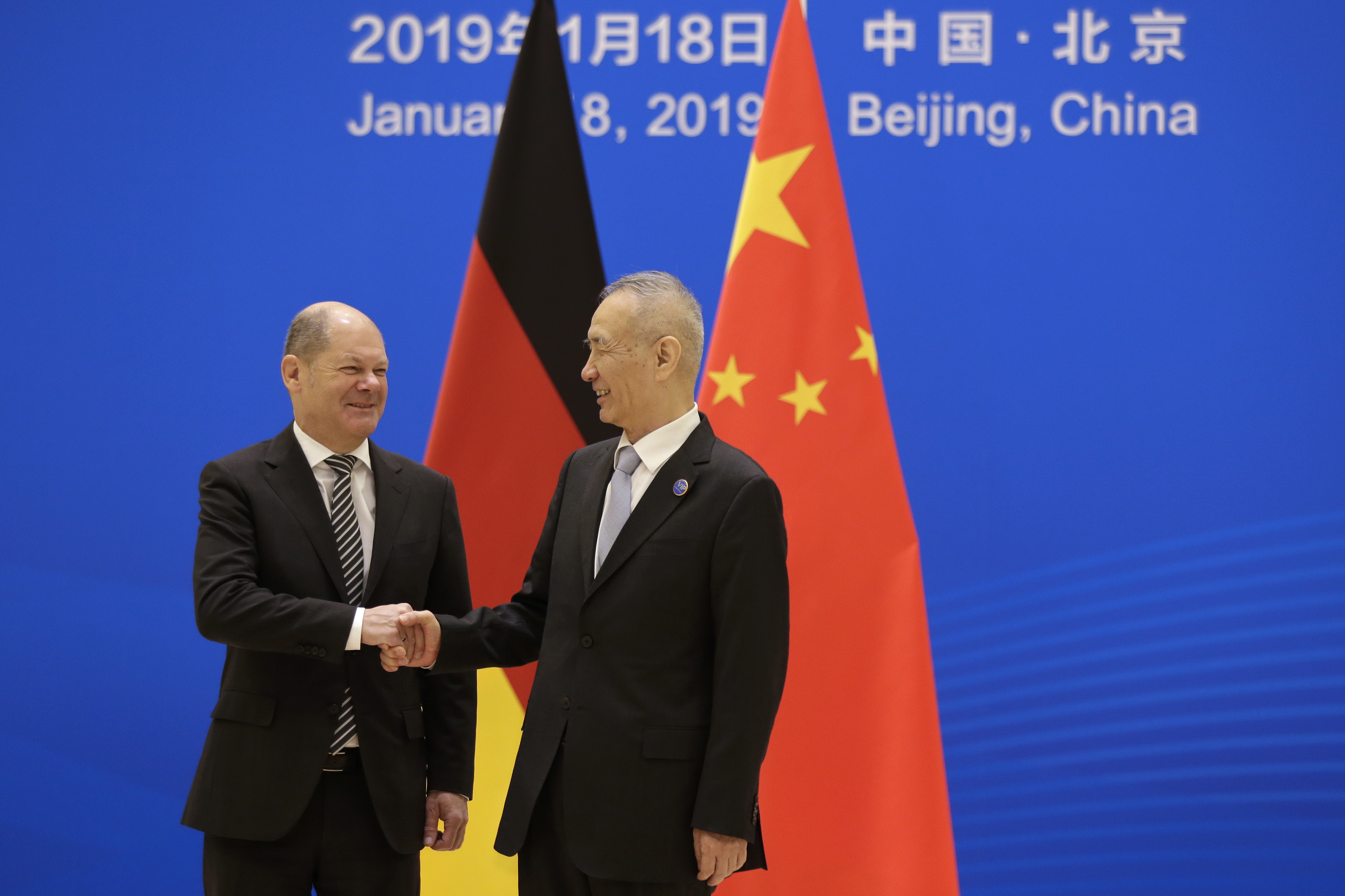 China, Germany hold high level financial dialogue