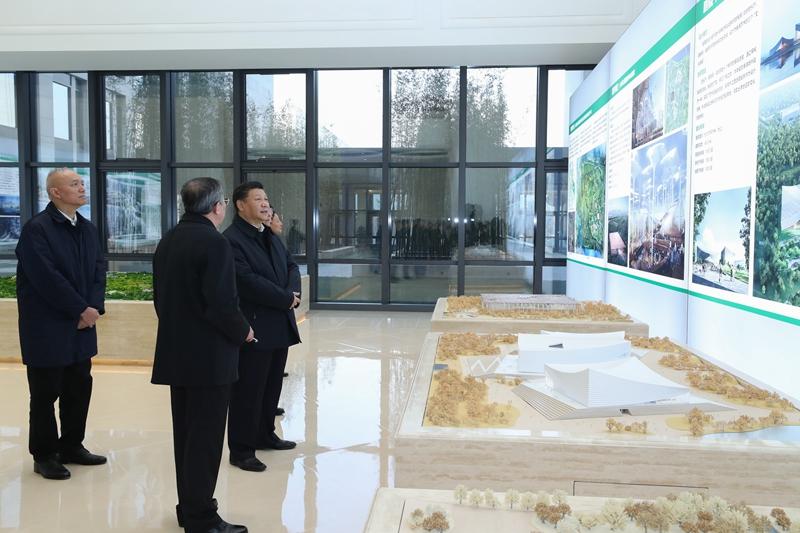 President Xi Jinping inspects Beijing's sub-center on January 18, 2019. [Photo: Xinhua]