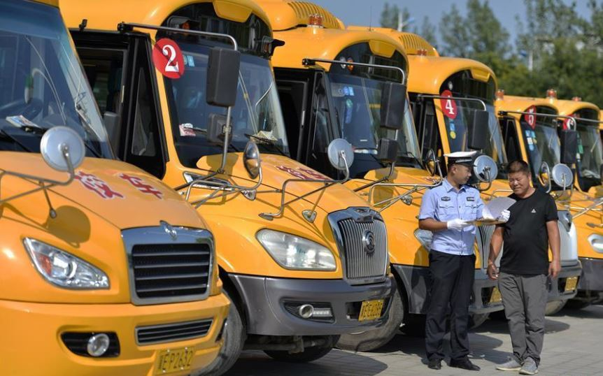 China to strengthen school bus safety