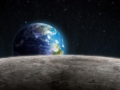 More asteroids pummel Moon, Earth starting 290 mln years ago: study